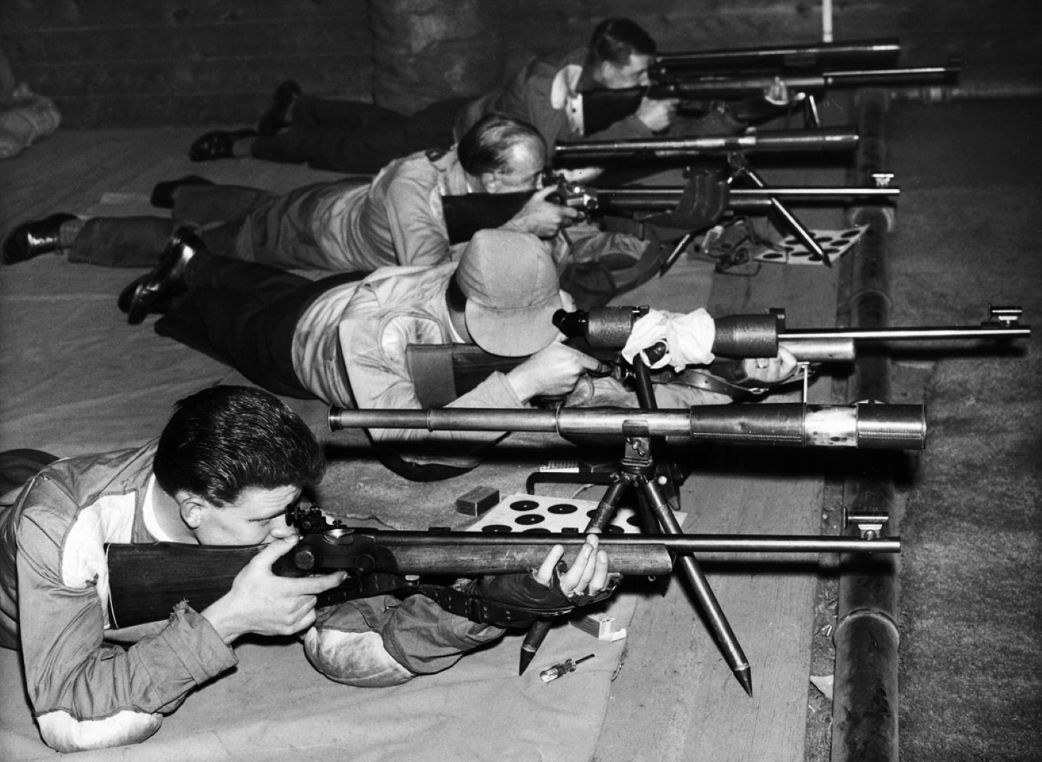 Prone Shooters 1963